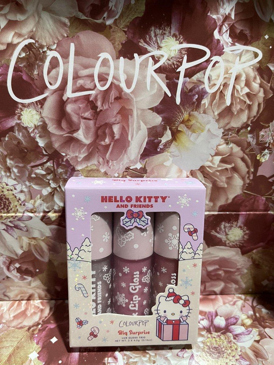 My glosses came! So cute!  #HelloKittyxColourpop @ColourPopCo