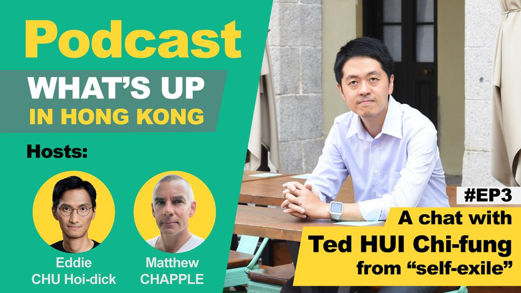 A detailed podcast interview with former Legislator @tedhuichifung in exile, with me Eddie Chu and Australia born HKer @LammaMatthew  🍏Apple: https://t.co/B690BeMcwT 🍎Spotify: https://t.co/EDPdNp0sSz 🍊Google: https://t.co/8FbqbTAscO https://t.co/AjxuDbSk8L