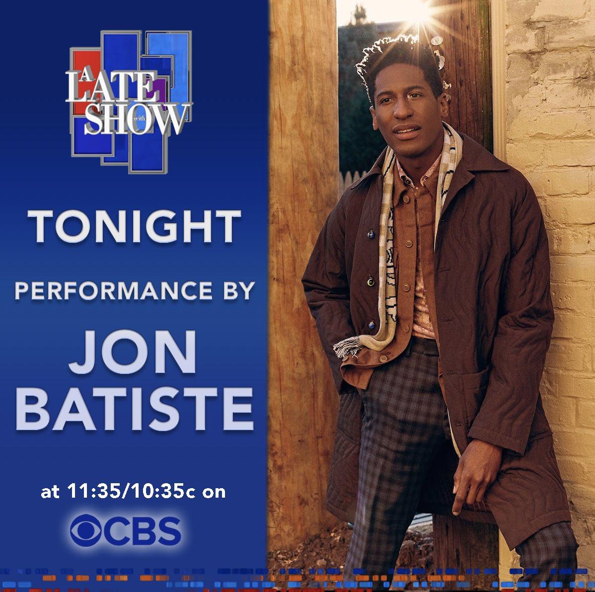 Replying to @JonBatiste: Tonight on @colbertlateshow ✅  #LSSC #PlayAtHome
