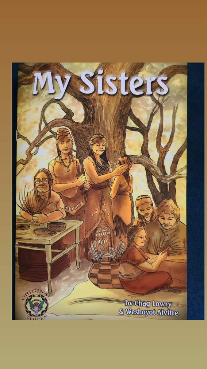 A new comic book co-written by Chag Lowry & myself about California Indian women & our basketry traditions. There is also an accompanying teachers aid for educators to include in their curriculm. Huge thanks to California Indian Basket Weavers Association & Blue Lake Rancheria.