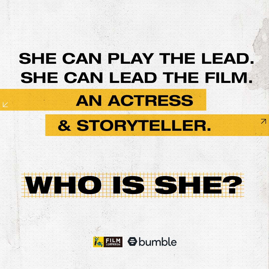 She's achieved great success as an actress and made an huge impact with her first thought-provoking directorial which had an ensemble cast. Guess who's next on #FCFirstMovers empowered by @bumble? #MakeTheFirstMove #BumblePartner