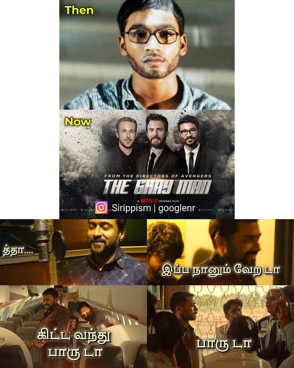 @dhanushkraja @netflix @NetflixIndia @Russo_Brothers @RyanGosling @ChrisEvans @preena621 Thalaivaaaaaa @dhanushkraja ❤️😍 Hollywood Herooo