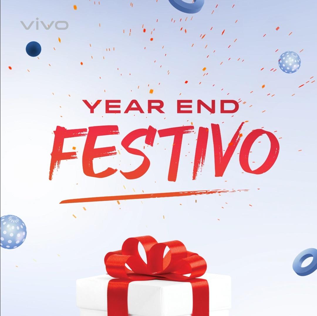 New year, new smartphone! Year End Festivo punya berbagai promo spesial buat kamu yang mau upgrade ke smartphone vivo terbaru. Pilih #vivoX50Series, #vivoV20Series, atau #vivoY51, bisa dapat cashback hingga 1 juta dan total hadiah undian senilai 400juta!  Yuk, #2021PAKEVIVO!