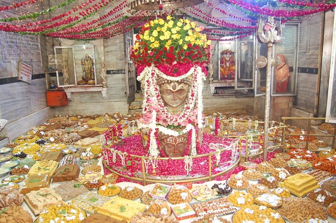 श्री पशुपतिनाथ मंदिर मंदसौर, 56 भोग दर्शन