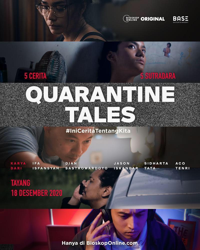 """Buat yang kangen sama film omnibus Indonesia, Quarantine Tales ini jelas sayang kalo dilewatkan begitu saja.  Kumpulan 5 cerita dari 5 sutradara dgn genre yang """"lengkap"""". Happy Girls Don't Cry jadi cerita favorit versi kami!   #QuarantineTales Bisa ditonton di @bioskopOnlineID https://t.co/IhxKeGtCIV"""