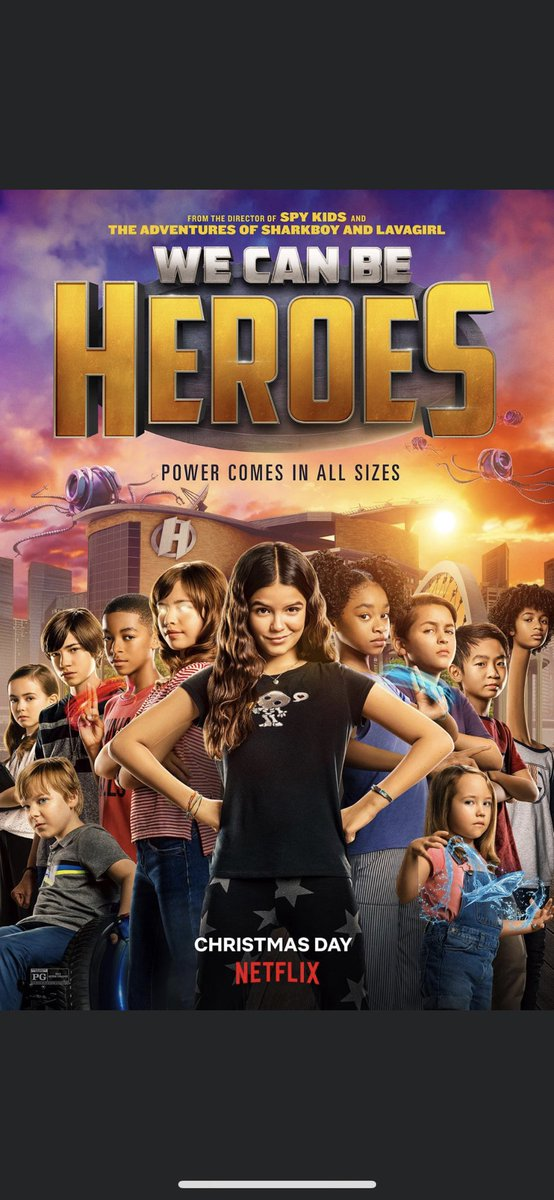 Netflix debuts posters and trailer for Robert Rodriguez's We Can Be Heroes.   #WeCanBeHeroes #Netflix #RobertRodriguez #TaylorDooley #YayaGosselin #PedroPascal #PriyankaChopraJonas #BoydHolbrook #ChristianSlater #ChrisMcDonald #AdrianaBarraza #trailer