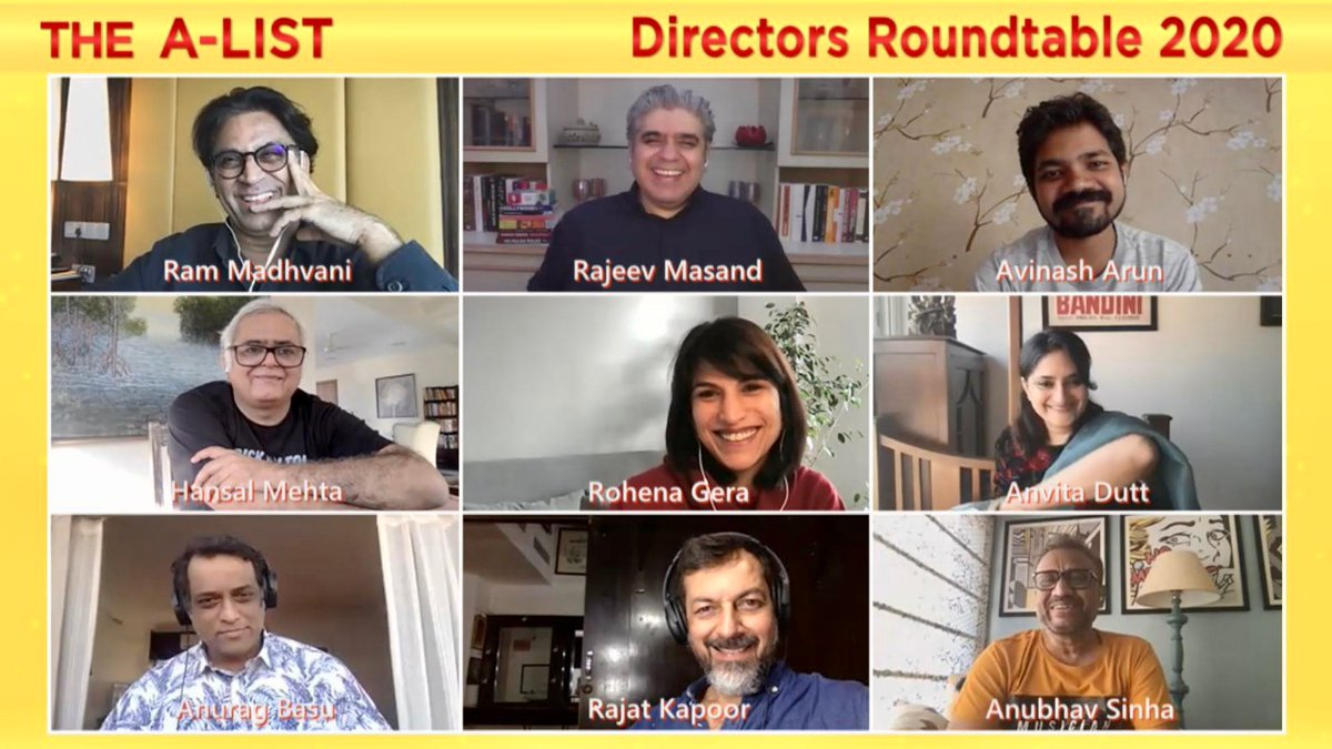 Eight of the finest storytellers who made some of the best films and shows this year gathered (virtually) for The Directors Roundtable 2020. Shared tips on how to 'handle' actors, spoke about the hardest scenes to shoot, and more. Coming next week