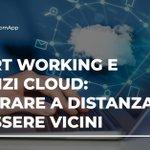 Image for the Tweet beginning: #Smartworking e #cloud: la strada