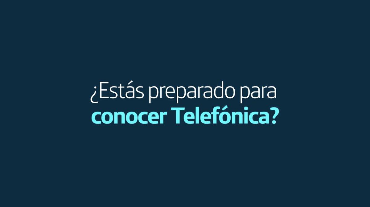 Queremos seguir contribuyendo al progreso de la sociedad con: ➕Futuro para todos  ➕ Conectividad ➕Digitalización ➕Sostenibilidad  #SomosTelefónica 💪