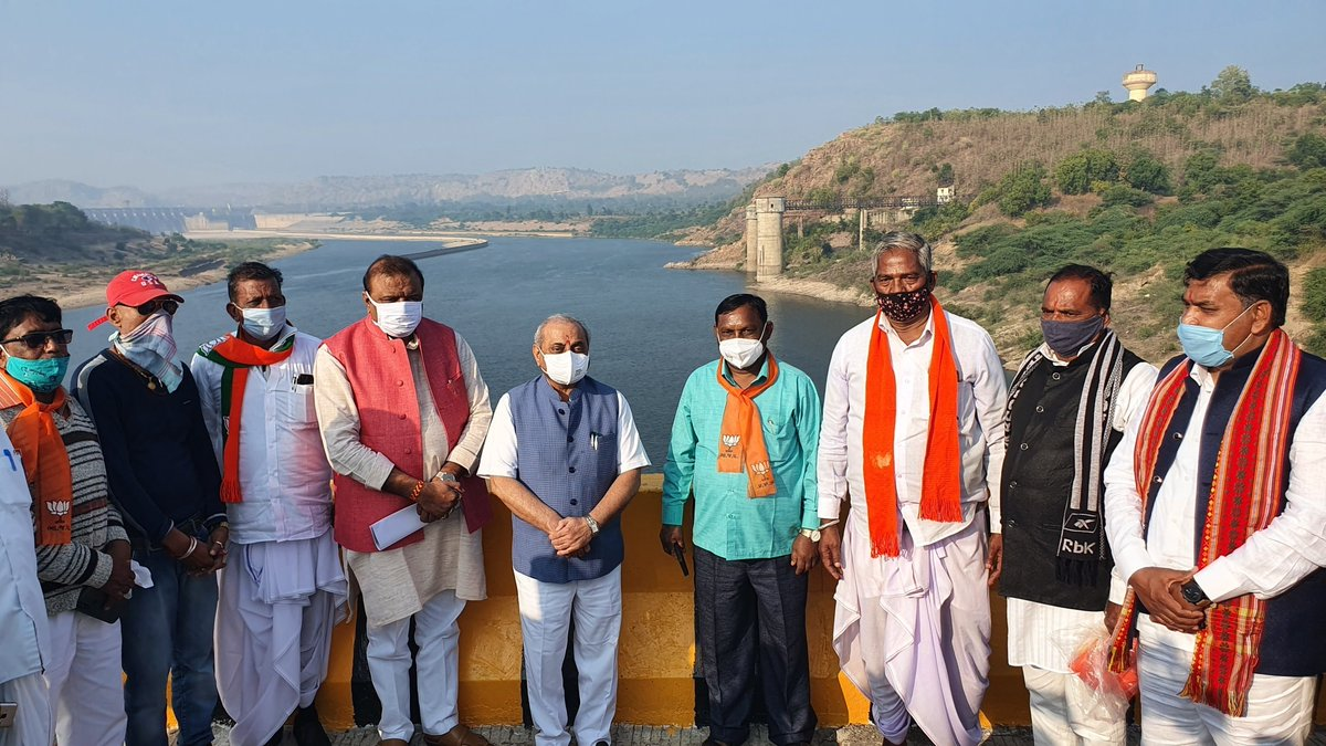 River bridge, other development works inaugurated in Central Gujarat