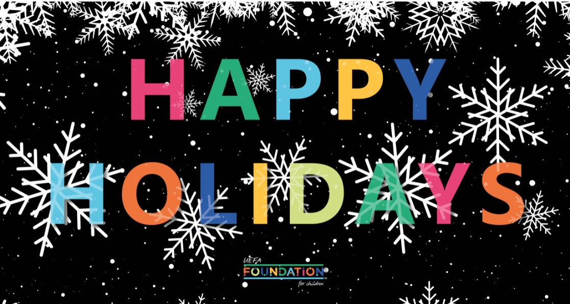 😁Happy Holidays from us to you.   🎊Wishing all our followers and our wonderful partner organisations a brilliant break and a happy new year.   🔜See you in 2021!