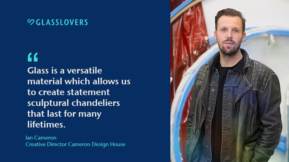 We are thrilled that the #glasslovers at @camerondesign use our durable glass tubing to #handcraft their fantastic lighting #designs. Creative Director Ian Cameron especially loves to create unique shapes with glass.  Learn more about his philosophy: https://t.co/GbPr12bYZf https://t.co/PaYgtSKeUI