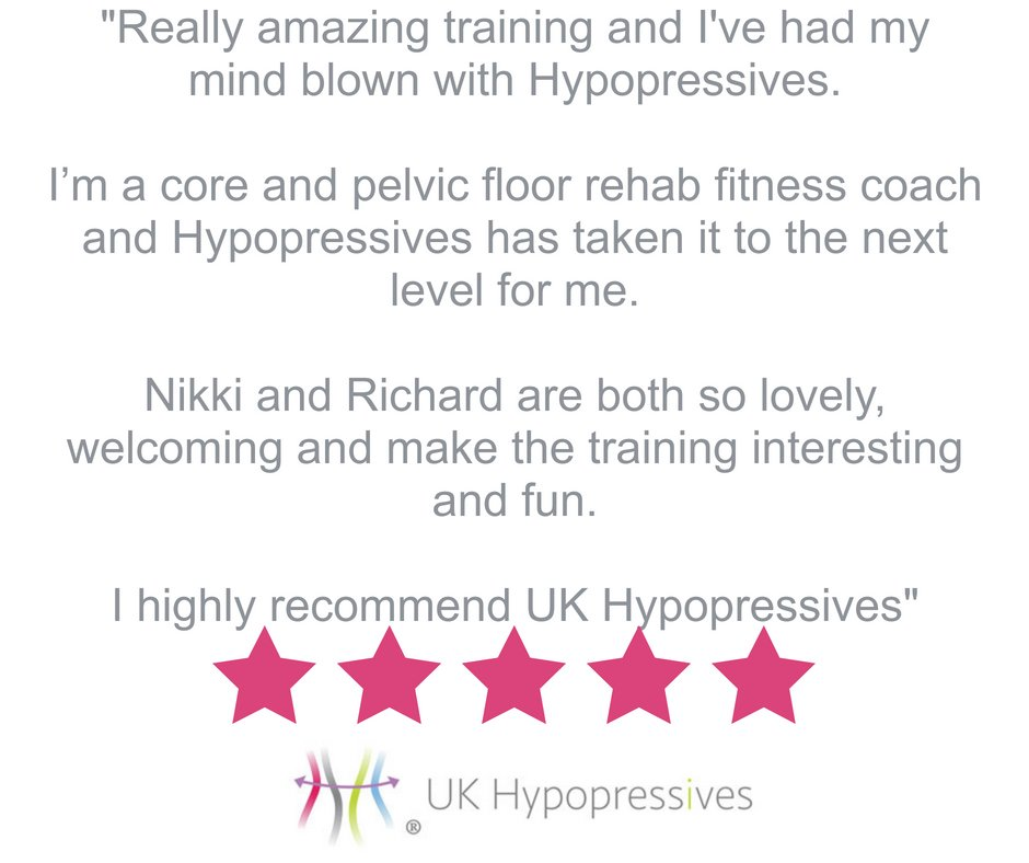 Testimonials mean so much to us, they reinforce what we already know - Hypopressives can be life-changing! If Hypopressives has changed your life then we'd love to hear from you!   #Hypopressives #Incontinence #FitnessCoach #PelvicFloorExercises #Pelvic Floor #Prolapse