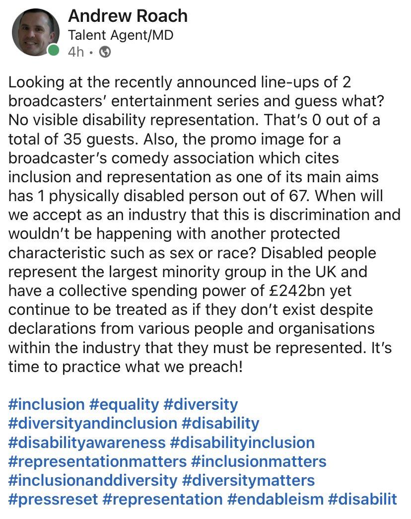 #pressreset #endableism #NothingAboutUsWithoutUs #weshallnotberemoved #disabilityoptin #disability #disabilityawareness #disabilitymatters #inclusion #Diversity #disabilityinclusion #inclusionmatters #DiversityandInclusion #RepresentationMatters #representation #Equality