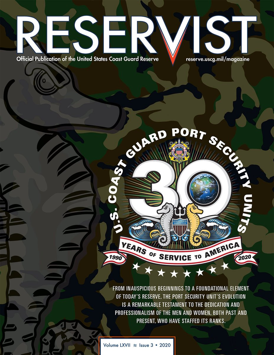 Check out the latest issue of Reservist at reserve.uscg.mil/magazine