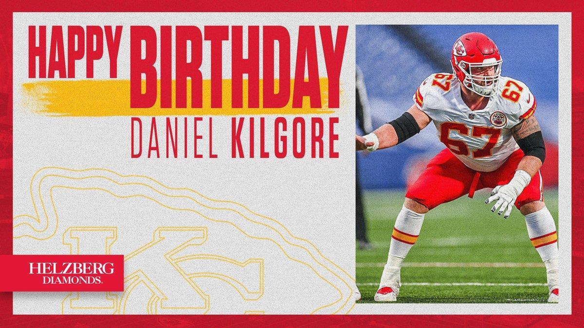 Replying to @Chiefs: Happy birthday, @DanielKilgore67 🎊