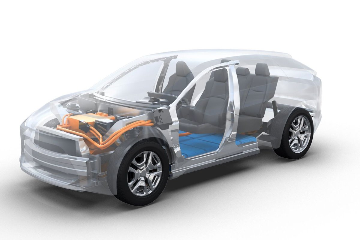 Subaru has confirmed that it's going to start making all-electric cars, and its first such model will be a battery SUV aimed specifically at Europe.  Find out more in our news story:  https://t.co/NImszi6HDh https://t.co/K5VFdUIy1T