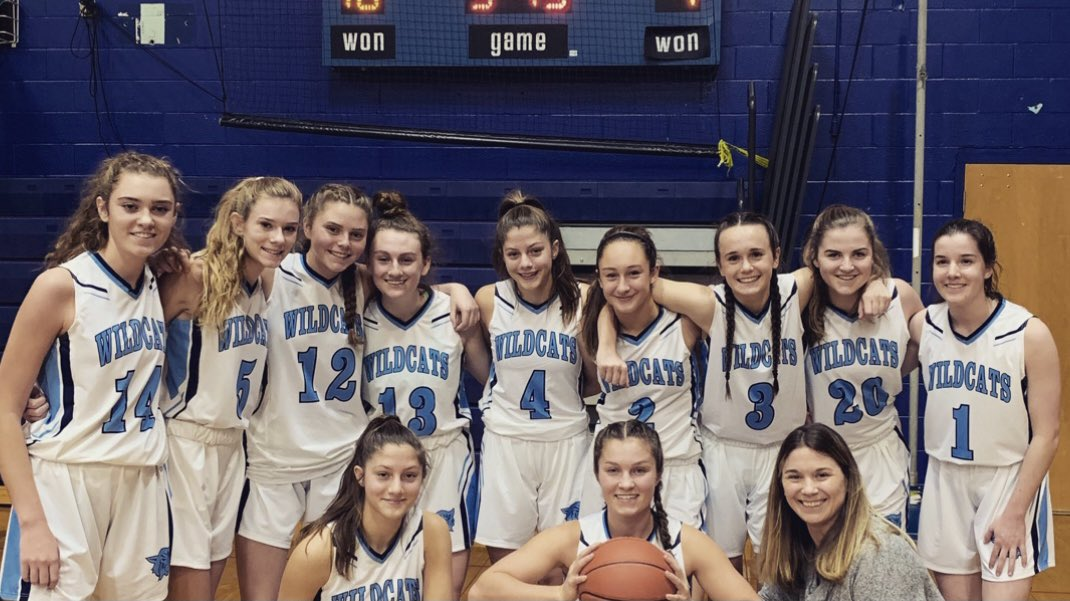 test Twitter Media - Today in Wildcat History 12.18.19: Coach Jess Stacy with her 1st W as HC of the Wildcats! York Women's 🏀 over Marshwood 66-38! Nina Howe 29 points; Emily Rainforth & Clara Pavuk with 10 each for a memorable win over the  '20 class A state champions.@YHSWildcats @york_girlsbball https://t.co/WeuhNX2KVw