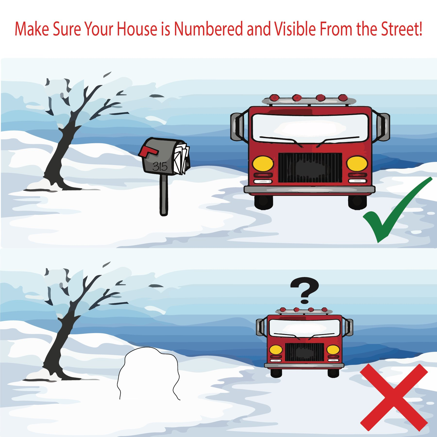 Friendly reminder from Franklin Fire Dept.