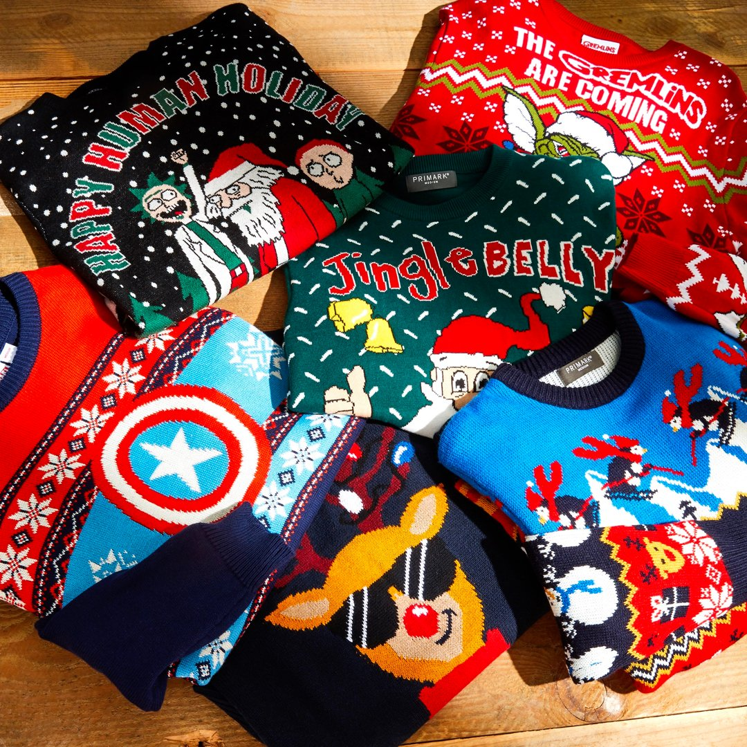 There's still time to bag a Christmas jumper! Prices from £12 #primarkman
