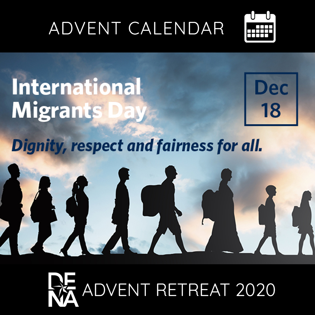 Called to advocate on behalf of our sisters and brothers. #MigrantsDay #DENASolidarity @loisharr @theoethicist @kevin_ahern @Lasallian_RELAN @DistrictSFNO @SFNObros @ylmidwest @MidwestDistrict @lasalleorg