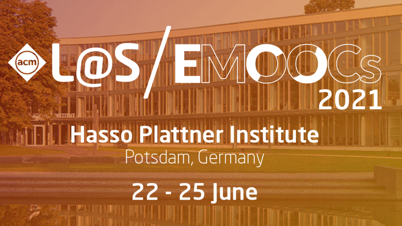 ⁉️ Call for Papers   The European MOOC European Moocs Stakeholders Summit #Emoocs2021 & ACM Learning at Scale 2021 (@LearningAtScale) will by hosted by #openHPI and take place in Potsdam.  You can also participate remotely. Submit your papers  👉 https://t.co/ndxamwUMcs #las21ed https://t.co/GzbVfZ61jN