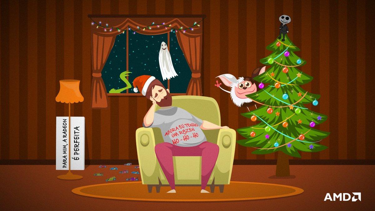 Jingle Bell, Jingle Bell, acabou o... Vish, 2020 tá quase acabando mesmo! Já está na hora de aproveitar o feriado para curtir aqueles clássicos infáliveis de Natal! Conta pra nós, #AMDLover, quais filmes clássicos você achou na imagem? 🎄🎅🎁 Feliz Natal! https://t.co/MusIo1papx