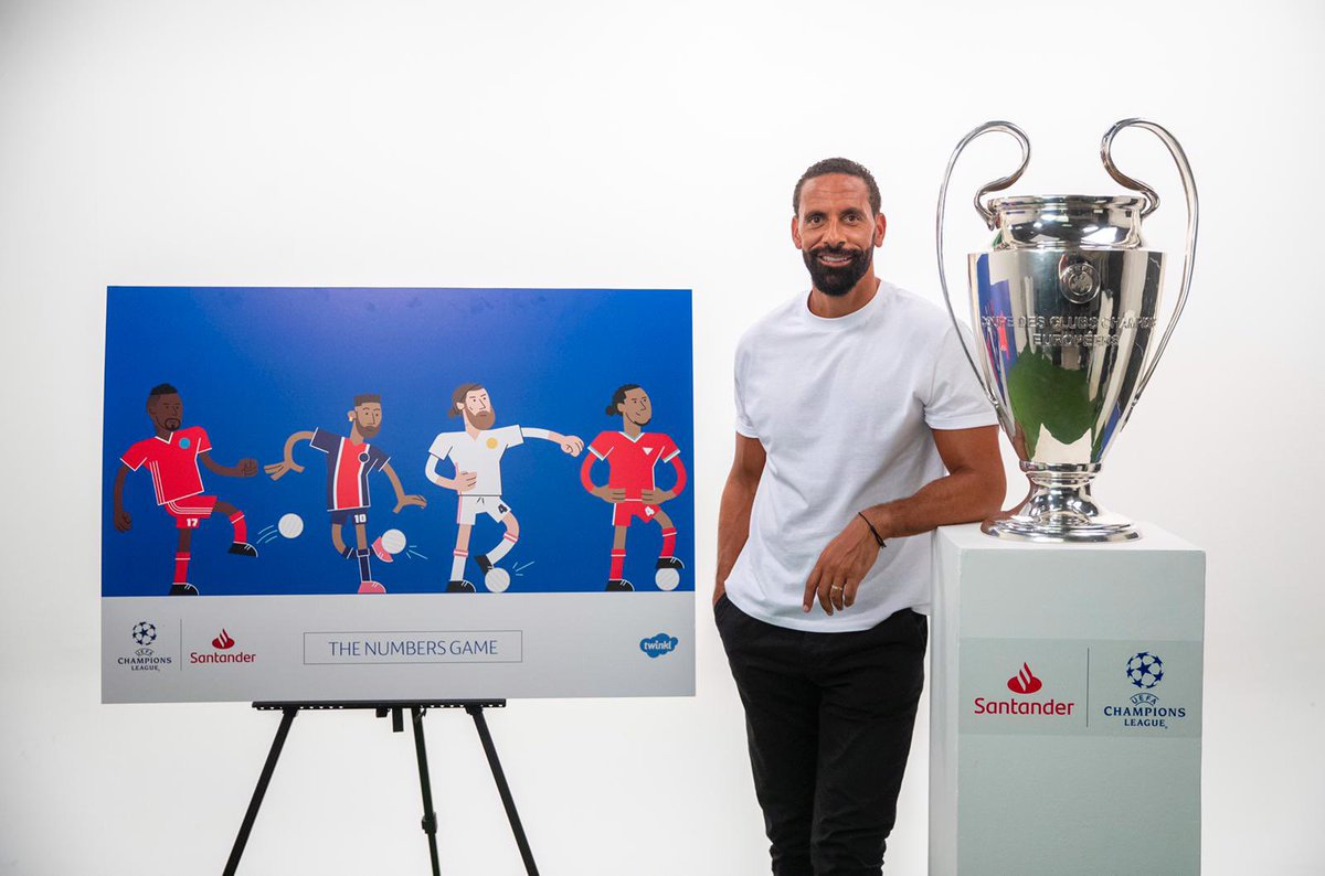 I hope everybody has enjoyed The Numbers Game with the @ChampionsLeague. Thank you to all the teachers, parents and school kids. We'll be back in 2021 with the next level. In the meantime, the free resources and videos are available at  🎄