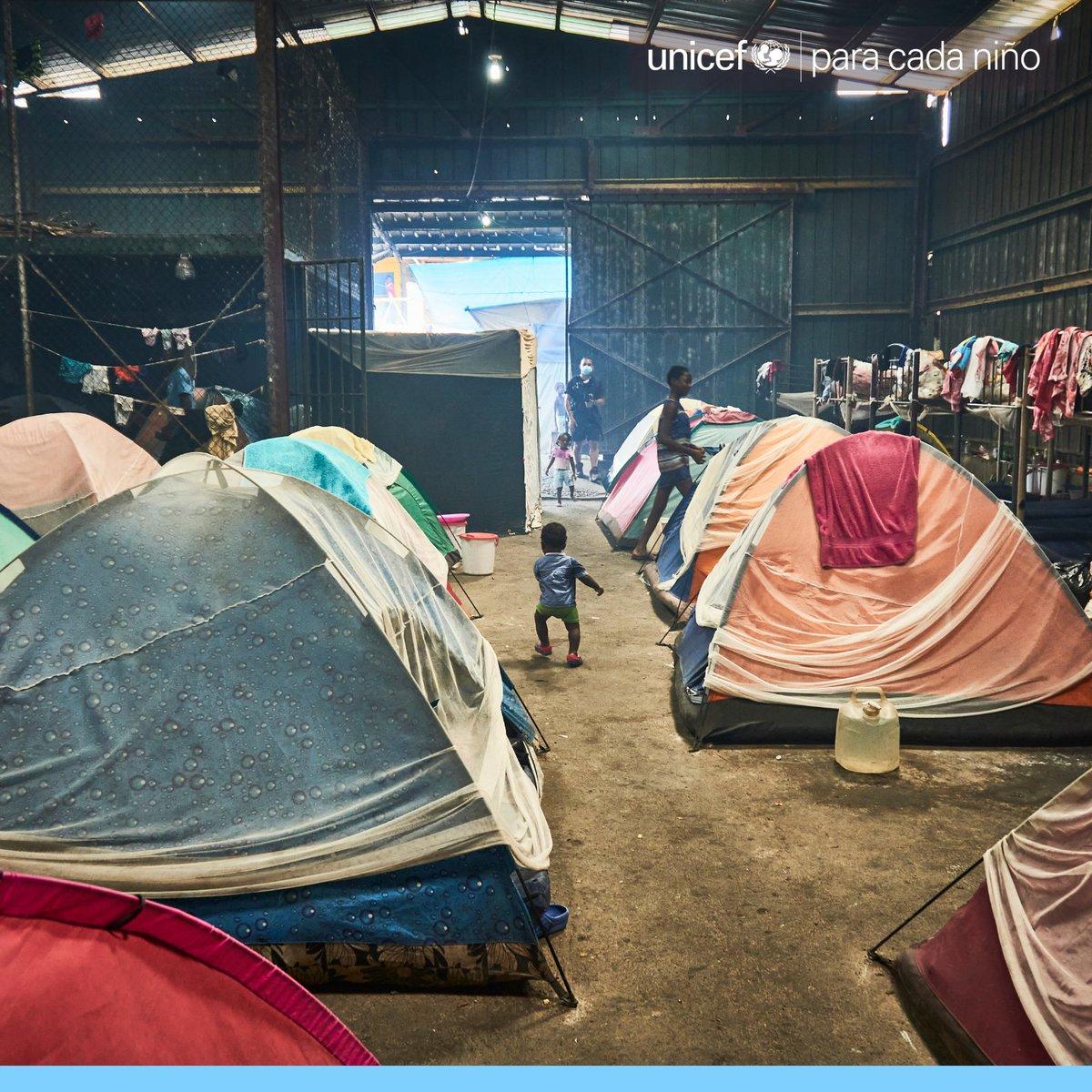 #Hoy se conmemora el Día Internacional del Migrante. 💙  #Panamá es un país de origen, tránsito y destino de migrantes. Durante las medidas de confinamiento por la pandemia con #COVID muchas personas 👦 y 👧 migrantes quedaron atrapadas en los países.   #AnteTodoSonNiños