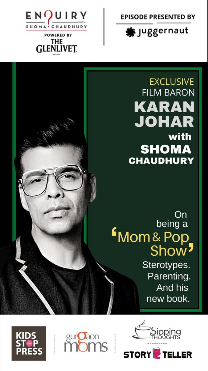 ⁦@karanjohar⁩ agrees he's a 'mom & pop show' - in a different way. In an exclusive interview with me, he speaks about single parenting, his crusade against stereotypes, and depression. The summer of tumult? Stored for another day. Do watch: