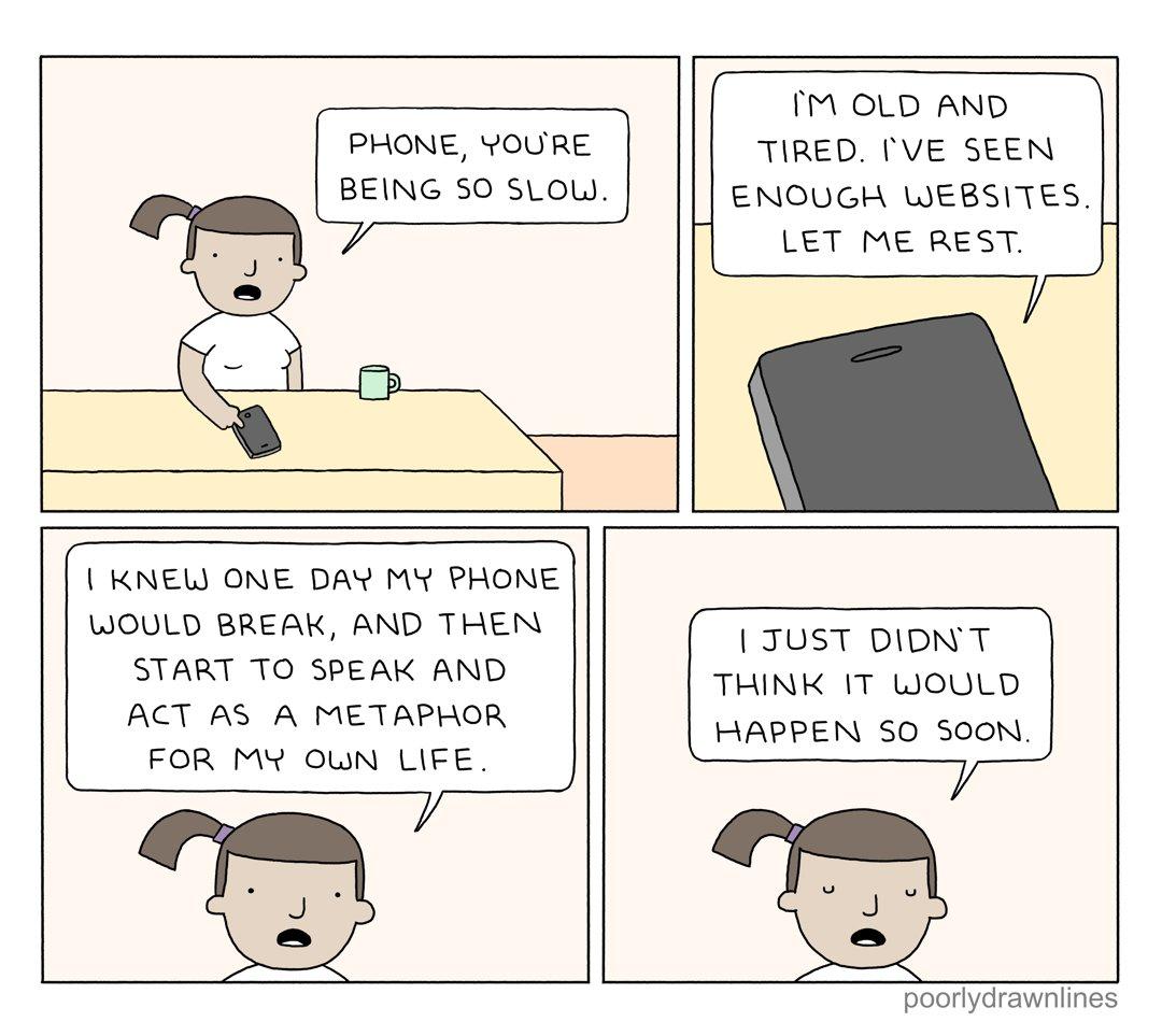 slow phone