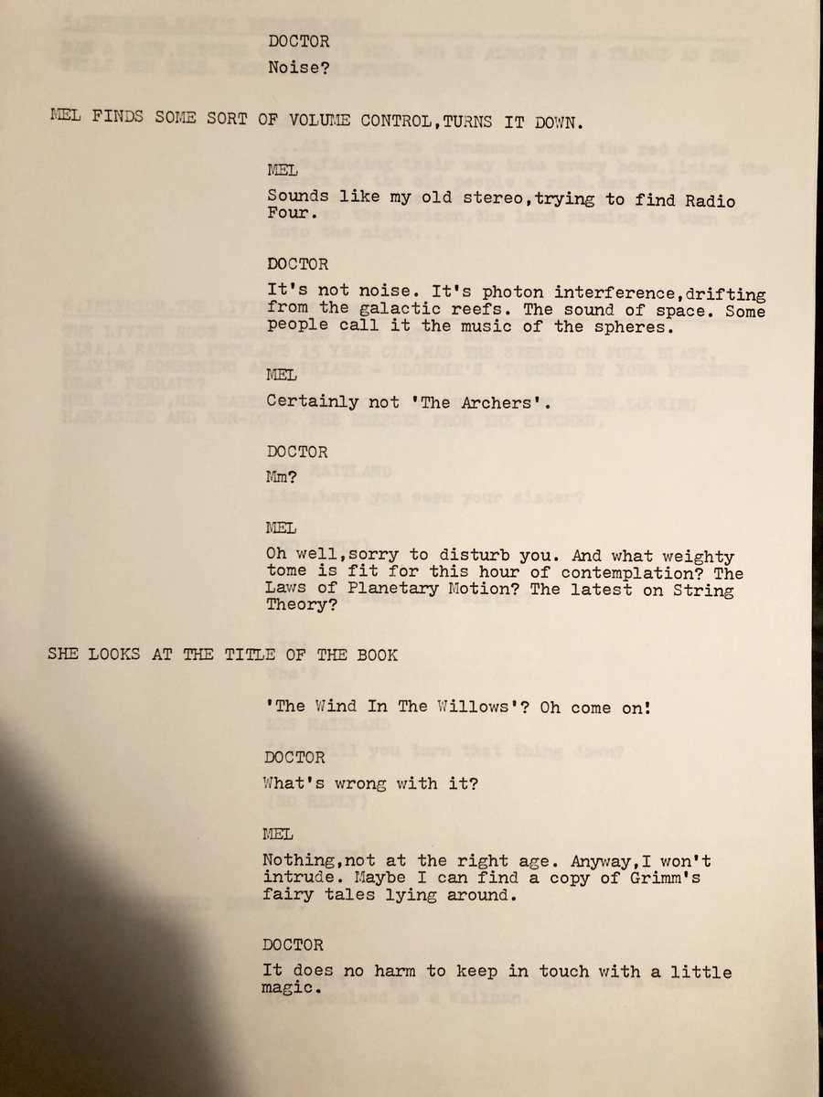 OKAY, it's not the Doctor Who rarity you wanted. It's not a missing episode, it's a never-episode.  But it's the first script by the man who went on to relaunch the show in 2005, that's not too bad! #SantasARobot