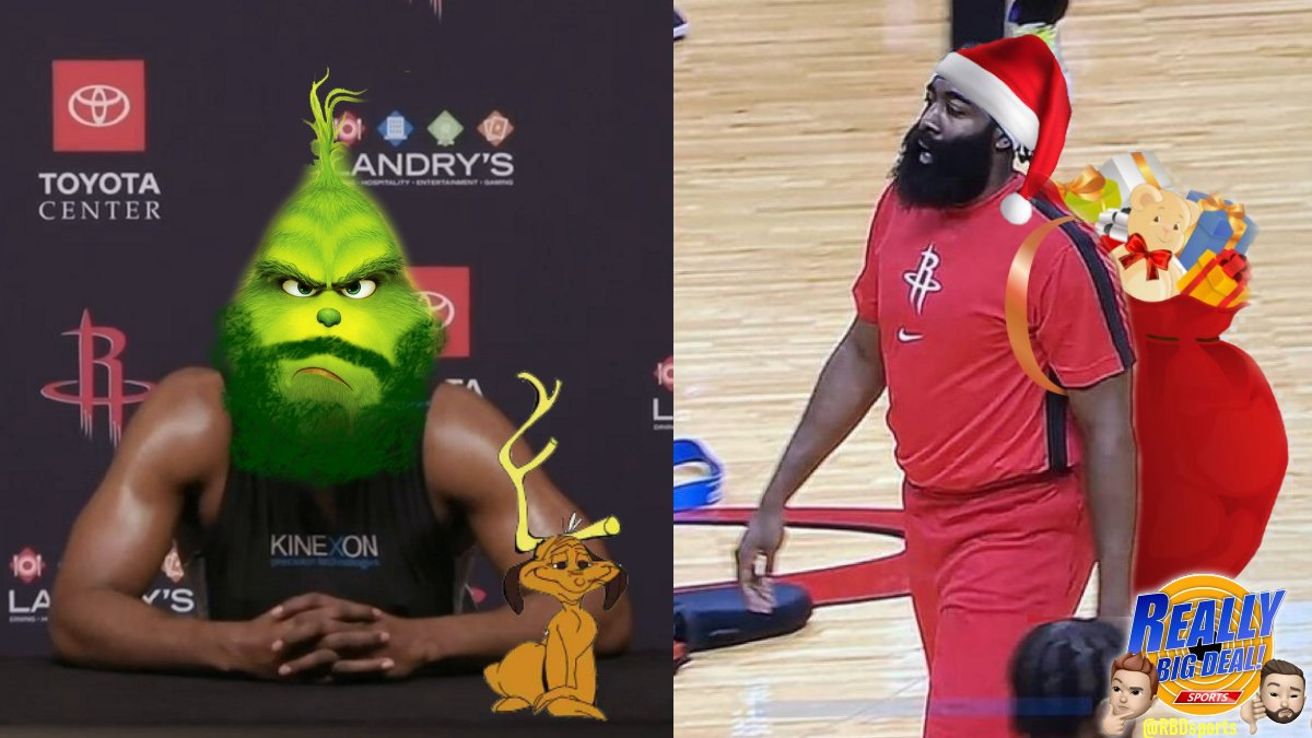 Which James Harden you got this Holiday? https://t.co/N42MLSp4An