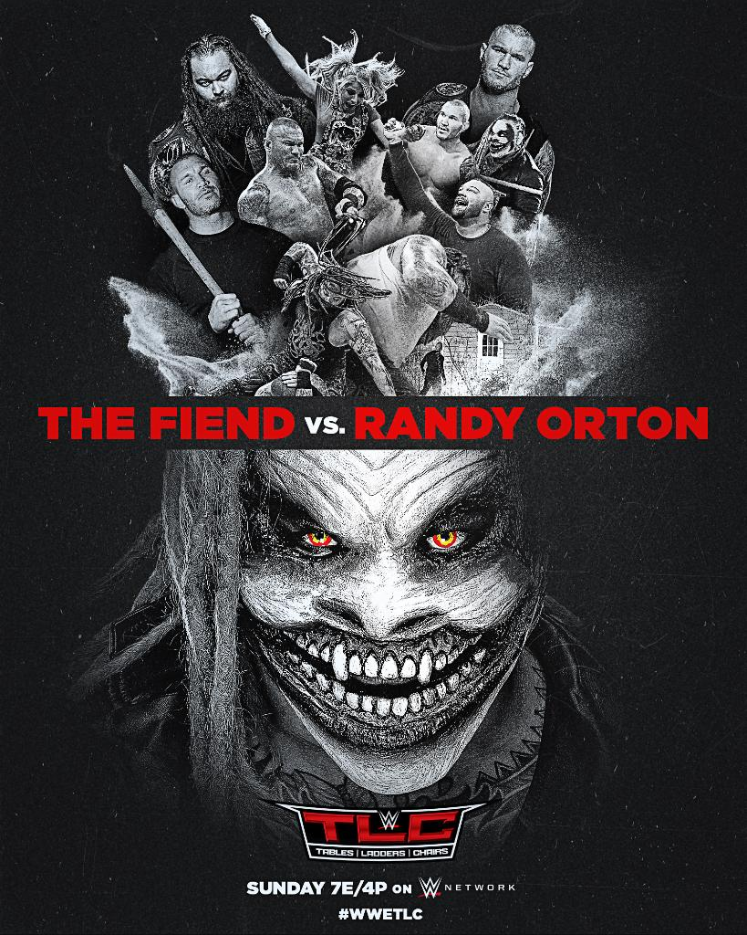 WWE TLC Poster For The Firefly Inferno Match