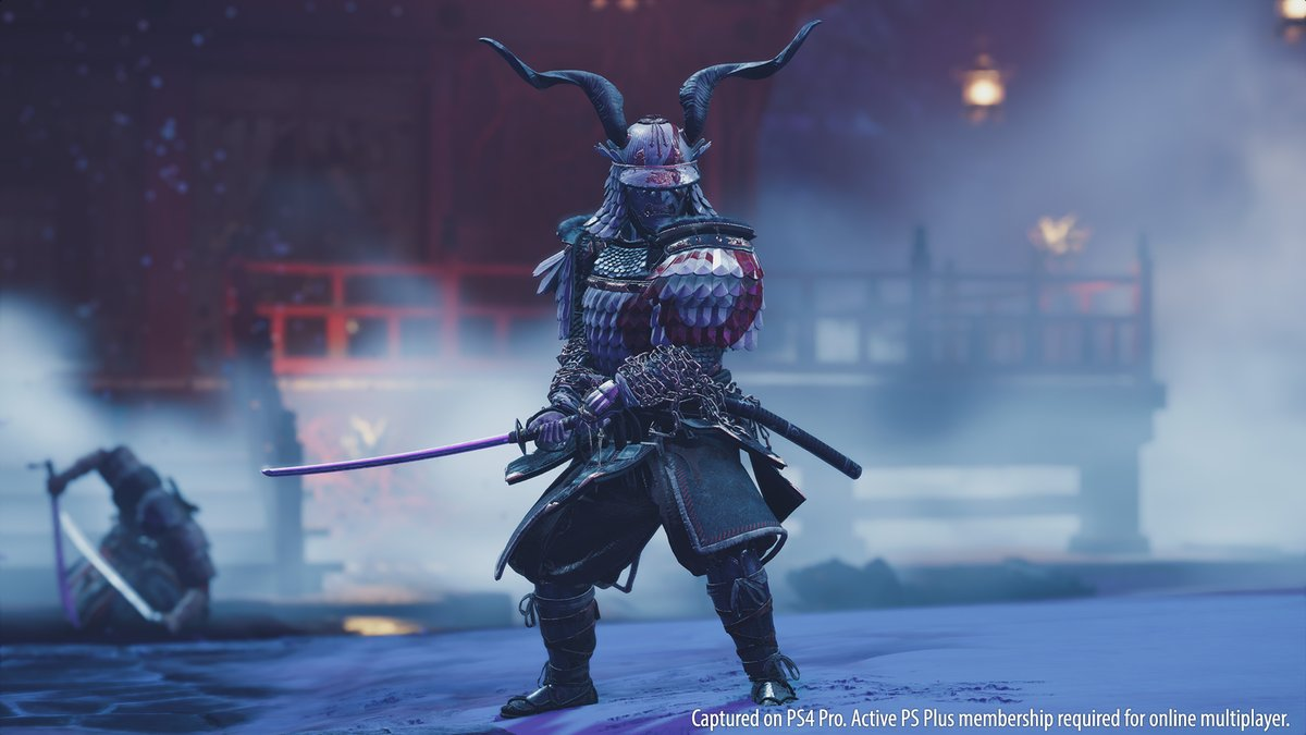 From now until January 15, 2021, unlock these #GhostOfTsushima: Legends outfits inspired by iconic PlayStation characters from God of War, Horizon Zero Dawn, Shadow of the Colossus and Bloodborne! Complete any Story or Survival mission with each class to unlock all four outfits!