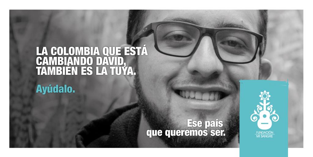 La Colombia que está cambiando David, también es la tuya. Puedes ser parte del cambio, ingresa y apóyanos en: