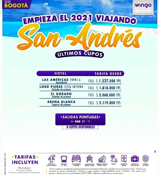Últimos cupos a San Andrés siete de enero desde Bogotá.  #SanAndresyProvidencia #sossanandresyprovidencia #selevantaelturismo #ElTurismoEsLaClave