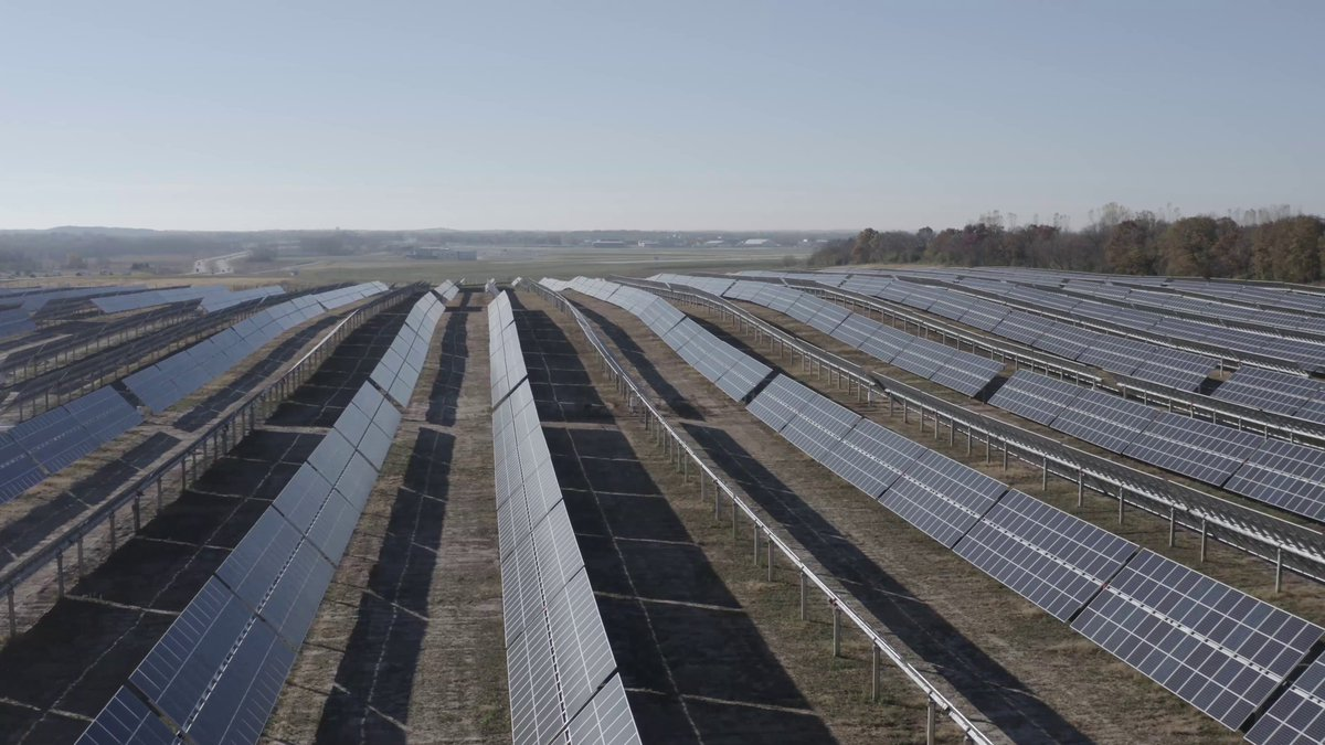 NEWS FLASH: The 9-megawatt (MW) solar array at the Dane County Regional Airport is fully operational and delivering locally generated, sustainable energy to MGE's distribution system. Learn more about this #cleanenergy partnership: