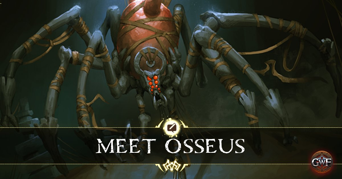 Shiver at the sight of Osseus; God of Bone and Sinew, creator of the Whitewood Forest!  Learn more about Osseus in our latest blog: