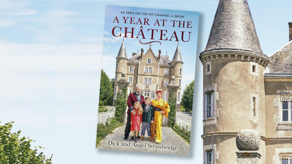 Reading for the Longest Nights - Dick Angel Strawbridge - A Year at the Chateau