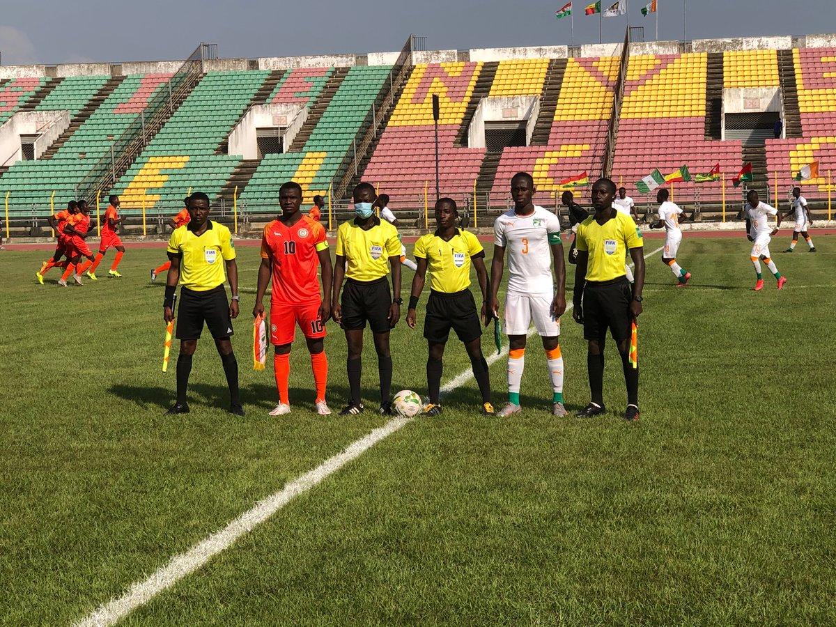 #U20 #Elim CAN 2021 - Tournoi Ufoa-B Benin 2020, match pour la 3e place   Score final  #Niger 0-2 #Civ ,avec 2 buts de Ouattara Brahima