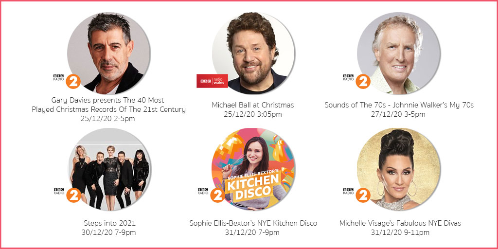 As 2020 comes to an end, we have been busy producing a selection of festive shows for @BBCRadio2 and @BBCRadioWales that run from Christmas Day through to NYE.   Head to @BBCSounds to find out more. https://t.co/6JHFesaPoj