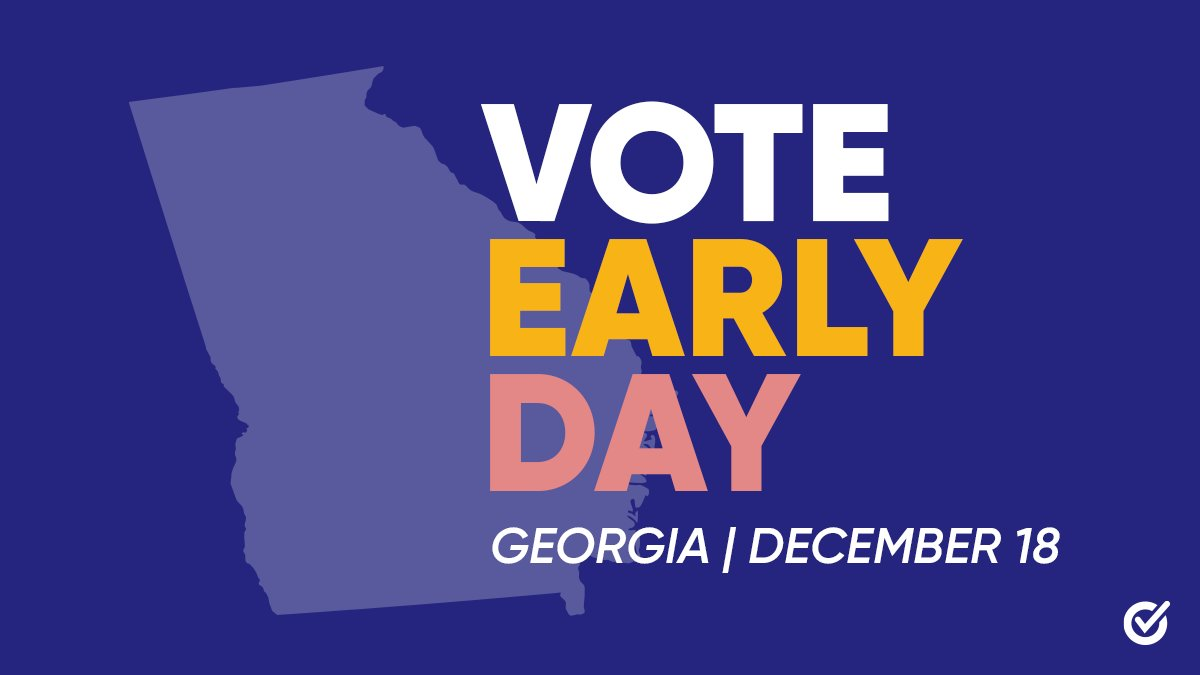 We're celebrating #GAVoteEarlyDay with our friends at @Rep_GA!   Georgia, make a plan to drop off your absentee ballot at a dropbox near you OR vote early in-person with your #VotingSquad: