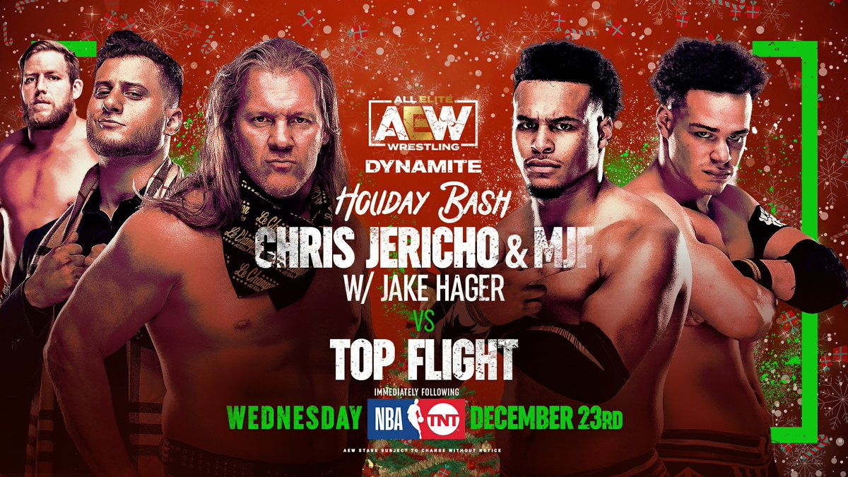 AEW Holiday Bash Spoilers