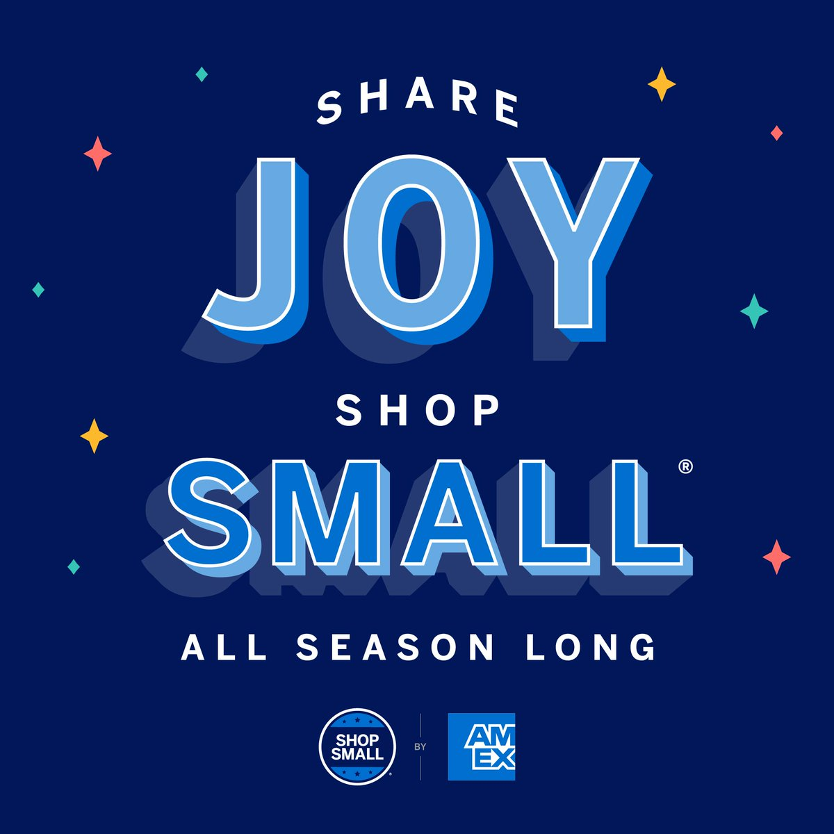 'Tis the season to share #joy – and show love for our favorite small businesses. Let's #ShopSmall on #SmallBizSat and all season long!  Visit  to learn more.  #ShopSmall #ShopLocal #SupportSmallBusiness #ChristmasShopping #Holidays