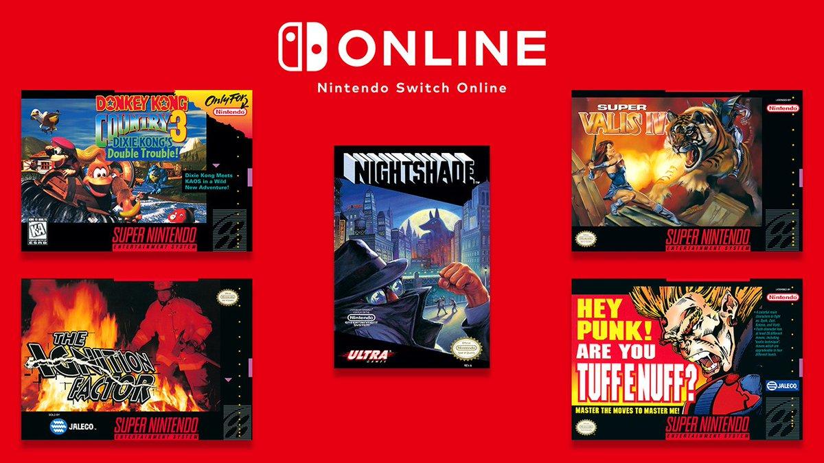 Para suscriptores: estos juegos ya están disponibles en la biblioteca. Para quien no, aquí tienen una razón más, para suscribirse a #NintendoSwitchOnline.  ¿Será que, con la llegada de #Nightshade a esta biblioteca digital, pronto veremos más juegos de @Konami disponibles? 👀