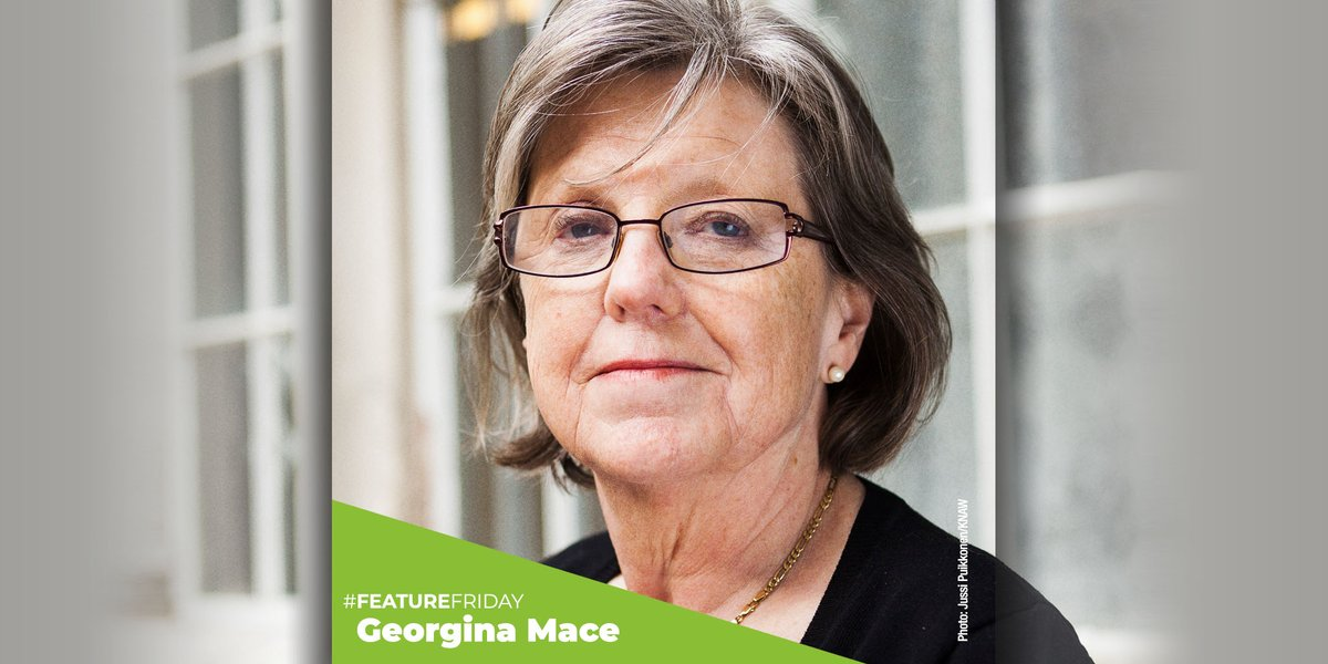 We honor the pioneering work of Georgina Mace, who helped the planet focus on the most critically endangered species by reshaping the Red List. 📷: Jussi Puikkonen/KNAW #redlist #Conservation #weneedgorillas #endangeredspecies