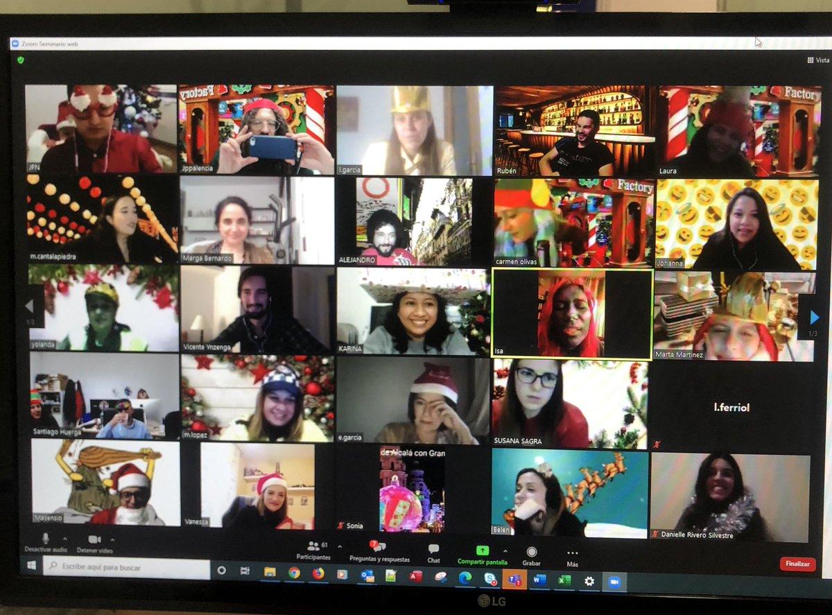 ‼️Fiesta virtual Pyramid‼️ No nos podemos juntar pero siempre seremos una familia ‼️ Un día muy divertido lleno de risas y alegrías ‼️ Gracias a @cervezasyakka  y @jammingteatro , sois unos crack👏👏👏  #compañeros #empresa #juntossomosmasfuertes #juntossiempre #alegria