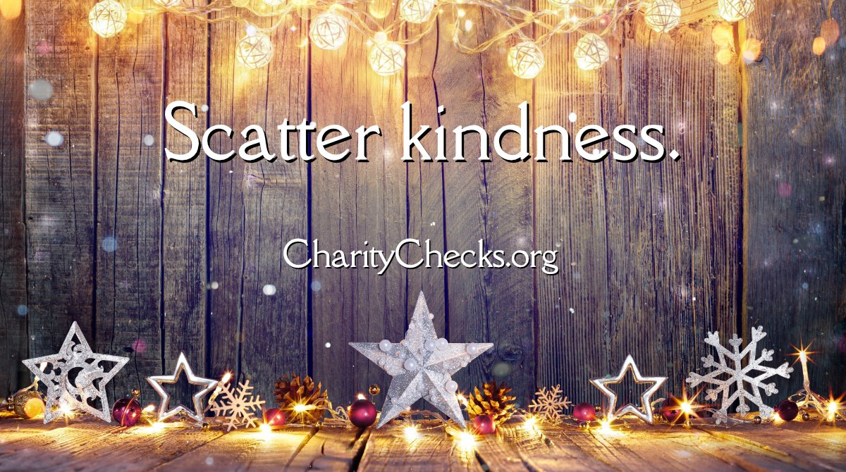 Scatter kindness with Charity Checks. When you give someone a Charity Check, they can give it to their favorite charity. Order by tomorrow at 10 am (PST) to receive by Christmas!   #RedefineGifting #EmployeeGifts #KidGifts #ChristmasPresents #GreatGifts