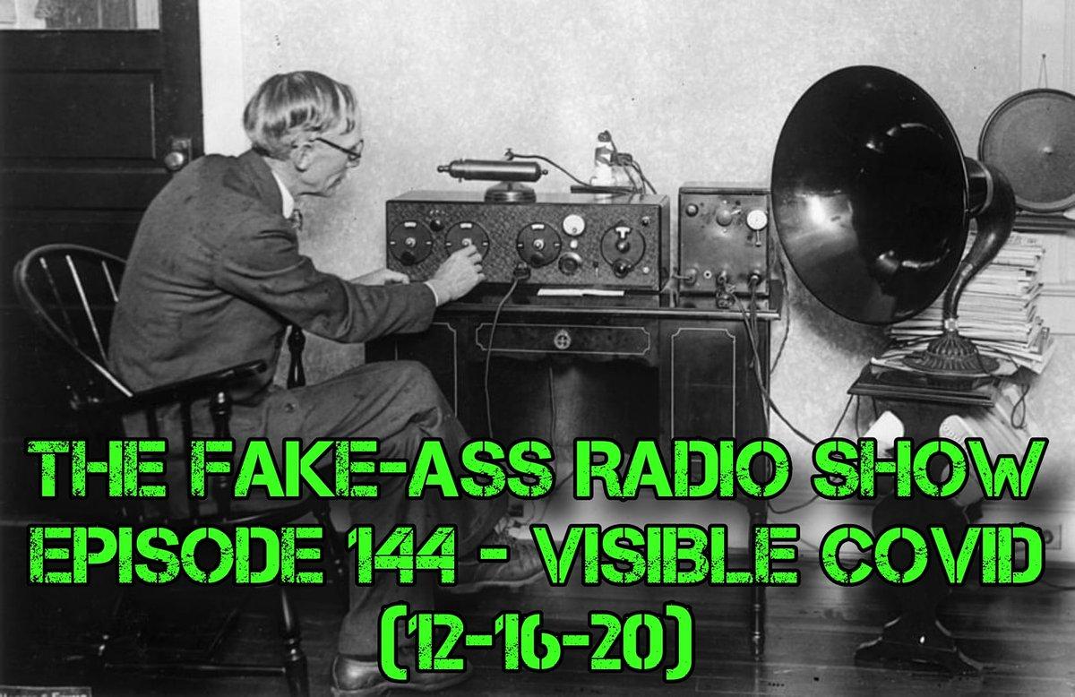 🆕 #fakeassradio 📻 -#Thanksgiving2020 -#tysonvsjones -#Jeopardy -#Mandalorian -#ripdavidprowse -#riptinylister Viva La Label - @Strange_Label  Apple -  Spotify -  Stitcher -